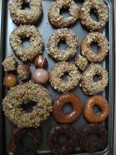 Left over donuts