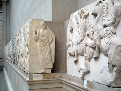 Parthenon, West Frieze, Slab 1 (Horsemen)