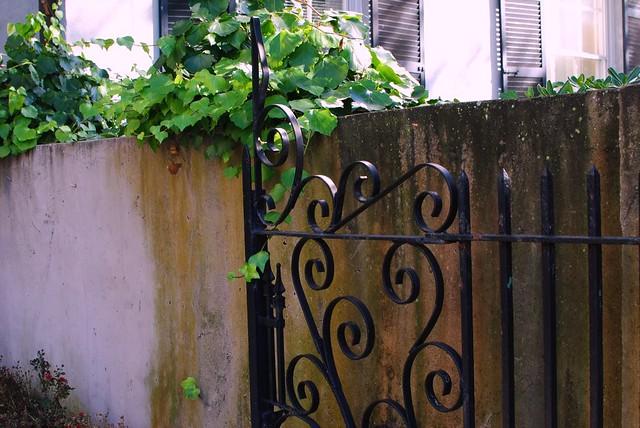 gates + greenery