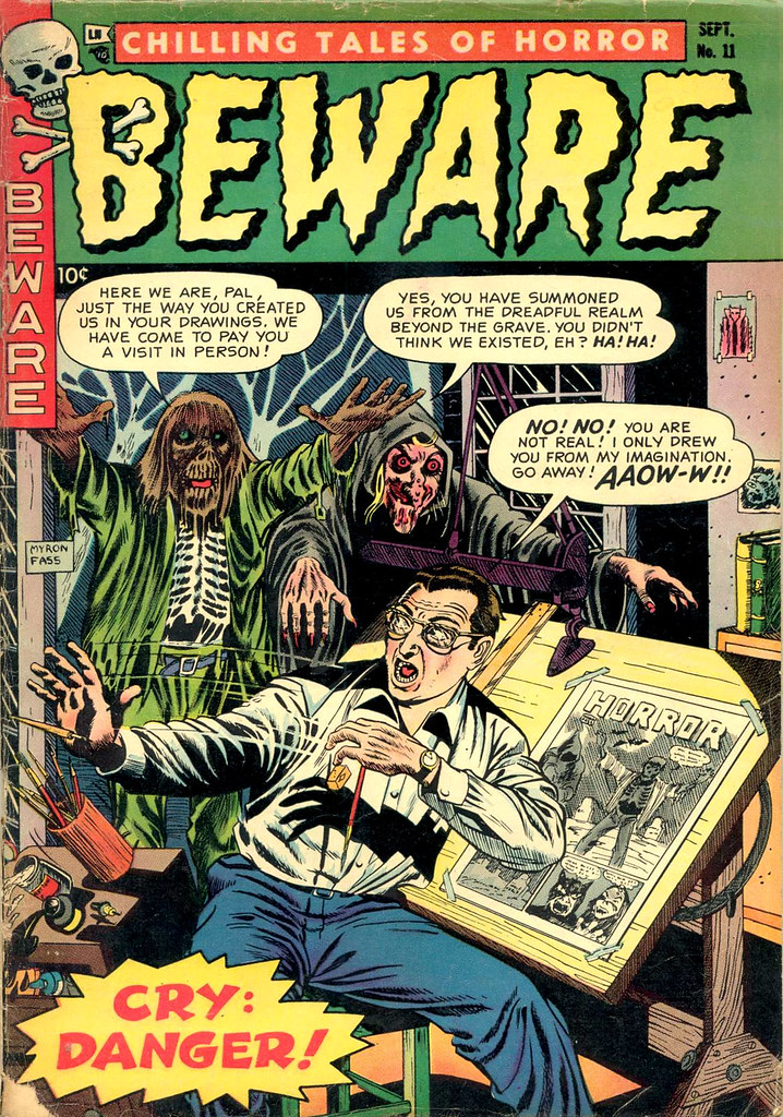 Beware #11 (Trojan-Prime, 1954)