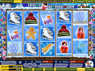 Winter Wonderland slot game online review