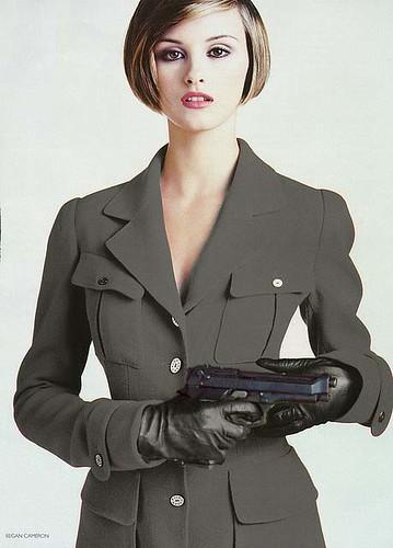 leather gloves silencer: