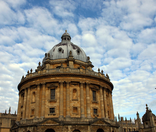 Oxford with interesting Sky