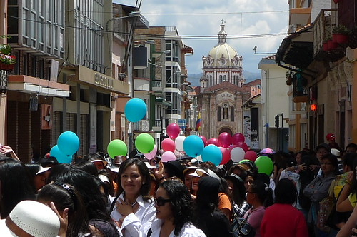 Parade - Cuenca, Ecuador