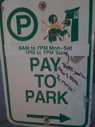 No free parking in Portland today