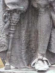 Stuyvesant's leg