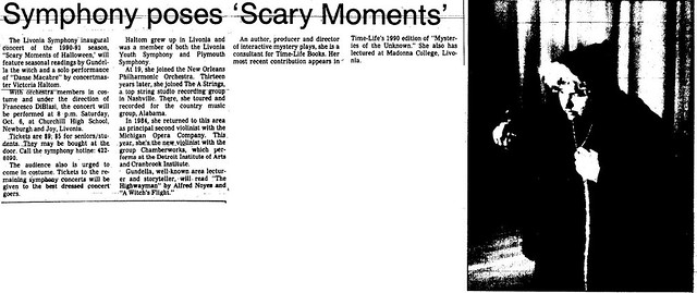 """Symphony poses """"Scary-Moments"""""""