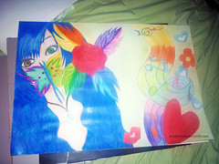 bipolar complex~ (Momo Nelis) Tags: colors eyes draw dibujo