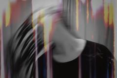 Day 191 :: is film dead? (Michelle Elaine.) Tags: portrait blackandwhite bw selfportrait blur fling girl oneaday dreadlocks photoshop self canon hair fun one whimsy alone glow play autoportrait dream sparkle lightleaks sp flip imagination remote recreation 365 fascination playful 1740mm whimsical watermark leaks selfie hairflip coloraccent project365 365days hairwhip canon40d fleaks