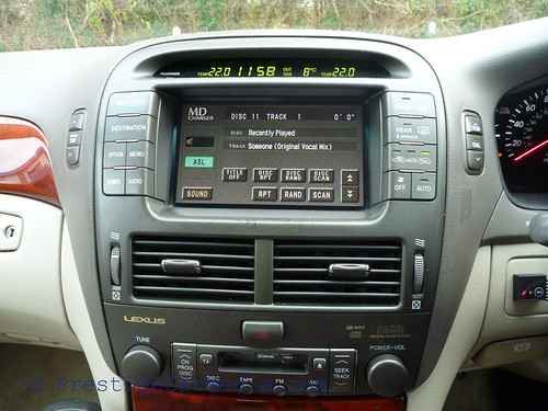 Lexus LS430 iPod Integration 0159
