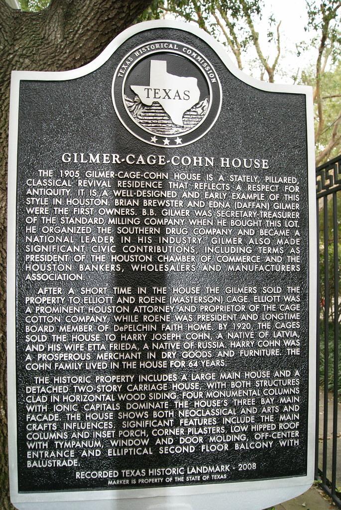 Gilmer - Cage - Cohn House