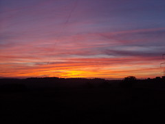 Germany Sundown (simo884) Tags: autumn sunset sky beautiful wonderful germany deutschland amazing heaven tramonto colours sundown best burning cielo favourite autunno colori germania bello preferito bellissimo meraviglioso migliore