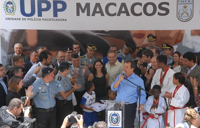Inauguração da UPP Macacos, em Vila Isabel (foto: Delfim Vieira)