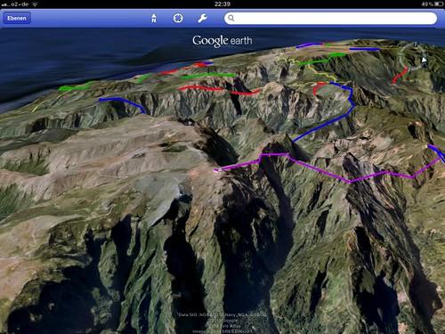 virtuelle Berge und Pfade