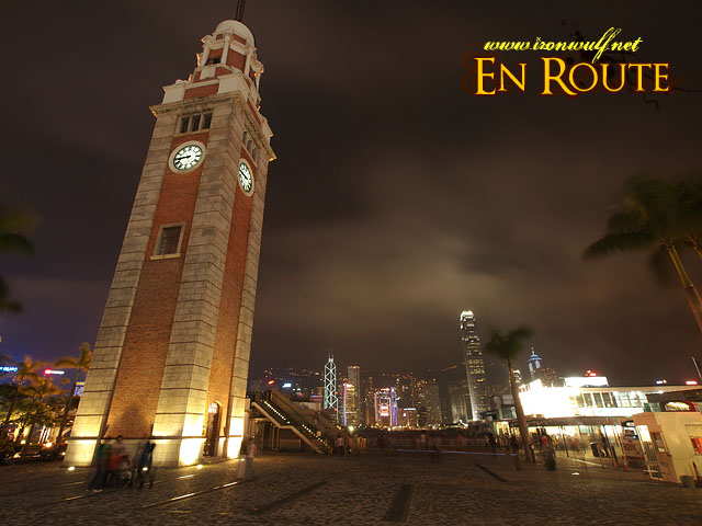 Tsim Sha Tsui Clock Tower and Victoria Harbour View