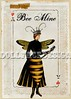"""""""BEE Mine Valentine"""" 5x7 Valentine's Day card (ms_mod) Tags: old black art yellow collage digital vintage paper heart antique mixedmedia flag victorian garland valentine queen ephemera bee bumblebee card crown etsy anthropomorphic bunting queenbee penant dollfacedesign"""