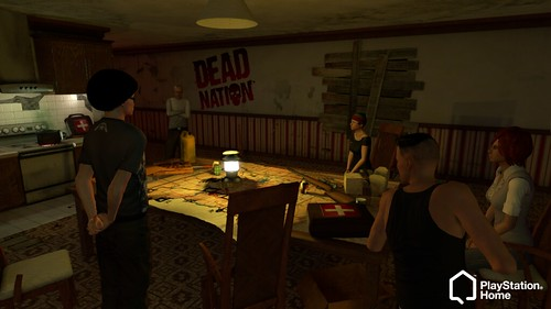 Dead Nation in PlayStation Home
