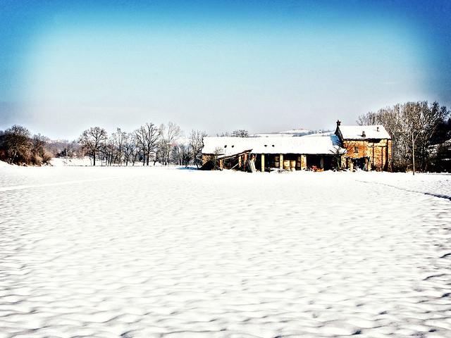 E la neve...