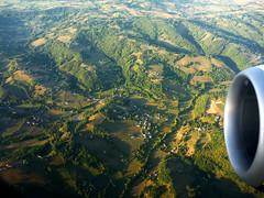 Flying into Rodez, Aveyron, France (ronmcbride66) Tags: france aerial aveyron rodez topography coth dragondaggerphoto coth5