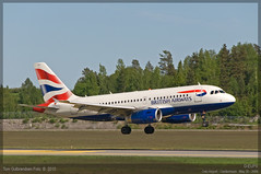 British Airways - G-EUPX - A319-100 (Tom McNikon) Tags: airbus british ba airways britishairways osl gardermoen a319 engm airbus319 a319100 airbus319100 geupx osloairportgardermoen