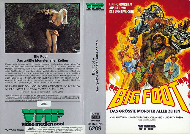 Bigfoot (VHS Box Art)