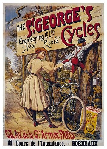 006-Carteles de bicicletas antiguas