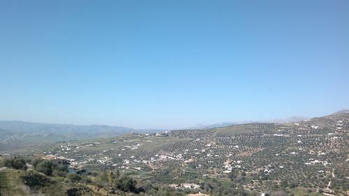 Vistas desde Alcaucin