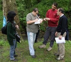Ibaialde 2010: tomando nota de las mediciones