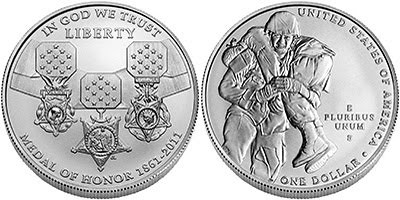Medal of Honor silver coin