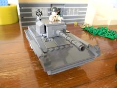 m24 chaffe (.The Chief.) Tags: two war european lego assault ww2 2011 m24 worls chaffe brickworld bricklord
