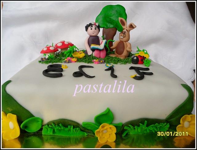 tavşan ve kız pastası