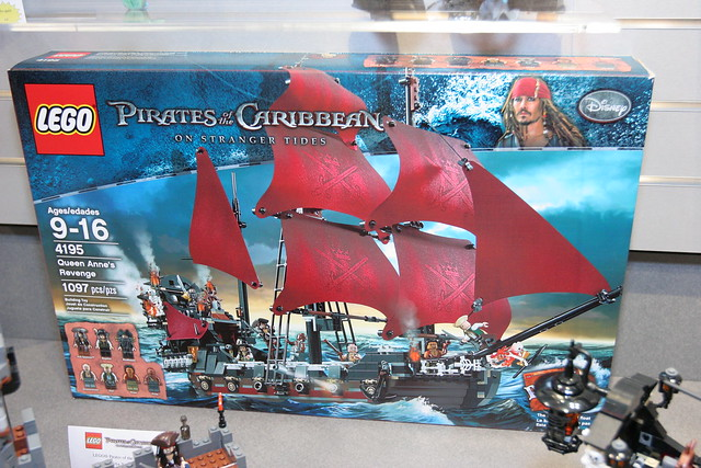 LEGO Toy Fair 2011 - Pirates of the Caribbean - 4195 Queen Anne's Revenge - 01