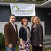 Board President Laurie Wimmer, new Fundraising Consultant Jay Clark and new Executive Director Laura Taylor