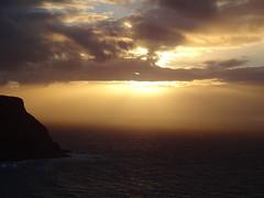 DSC01281 (Saf37y) Tags: gamriebay gardenstown mhorhead morayfirth sunset seashore sea coast clouds stormy day endoftheday seagull seaside