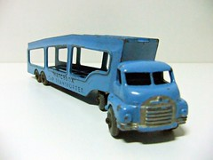 CAR TRANSPORTER A-2 - MATCHBOX (RMJ68) Tags: bedford s type articulated truck car transporter matchbox lesney moko accessory pack 2 a2 diecast coches cars juguete toy trailer camion metal
