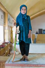 SKATE GIRLS OF KABUL (Eye magazine) Tags: saatchi gallery skateboard girl kabul skateistan