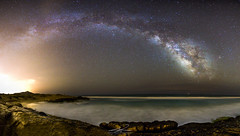 Milky Way (J. Cuenca) Tags: playa murcia cartagena calblanque estrellas via lactea canon arena mar