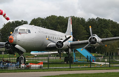 NL-316 Douglas C-54A Skymaster (corkspotter / Paul Daly) Tags: dutch dakota association dda douglas c54a skymaster lelystad ehle ley netherlands nl316 cn 748896 outdoor vehicle airplane aircraft