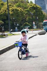 2017-04-30-10h23m48-2 (LittleBunny Chiu) Tags: 皇居外苑 腳踏車 騎腳踏車 日本 東京 日本旅行 去日本旅行 東京台場 台場 人工沙灘 御台場海濱公園