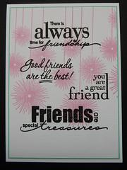 Celebrating Friendships (123bear65 (Kim)) Tags: heroarts k5585 cl184 cl493 cl578 shadowinks bubblegum versafine blackonyx cardstock