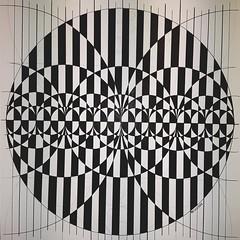 20170508_202444 (regolo54) Tags: hyperbolic geometry symmetry pattern handmade mathart regolo54 escher fractal