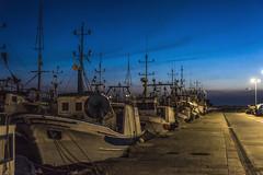 fishy dreams .... (the-father) Tags: fishingboat night harbour dark sleep sea sky trapani sicily italy