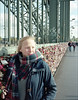 untitled (macfred64) Tags: mia lovelocks hohenzollernbridge film analog mediumformat 120 645 6x45 fujiga645 fujinon60mmf4 kodakportra400 cologne germany homeland