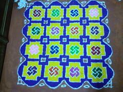 IMG_20161030_033921 (bhagwathi hariharan) Tags: rangoli kolam powder flour diwali maakolam riceflour carpet festival