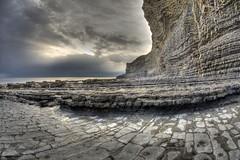 (Nice Dream) (pauldunn52) Tags: cwm nash glamorgan heritage coast wales wave platforms sea cliffs liassic limestone sky