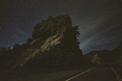 comfort zone (film) (Art by 2wenty) Tags: 2wenty dark night midnight mood moody road leicacl elmarit 24mm 28 film analog analogue asph nortisuls600