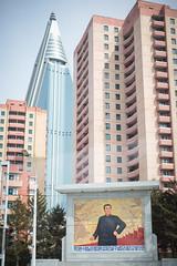 Ryugyong (The French Travel Photographer) Tags: dprk kimilsung hotel immeublesbatiments flickrcomsebmar architecture pyongyang urbain northkorea ©sébmar instagramsebas