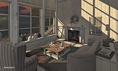 Decor commission - Farm House (MoonsoulResident) Tags: interior decor decoration farmhouse moonsoulresident building livingroom view riverhome beachhome