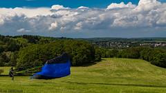 JQ7A7313_LR_EF_170514_1965fsa (1965f.rank) Tags: paragliding gleitschirmfliegen wind sonne frank advance alpha6 nonrod groundhandling odenwald deutschland hessen