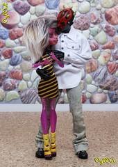 №448. Im Hayelin es (OylOul) Tags: 16 action figure darth maul monster high doll create cam custom